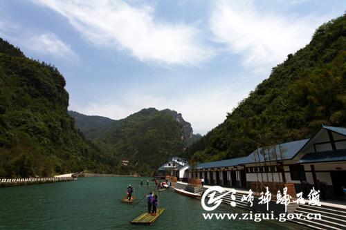 """泗溪风景区开门迎宾 更名为""""三峡竹海生态景区"""""""