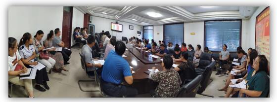 绿盾征信焦作服务机构参加修武县信用信息共享平台联络员培训会