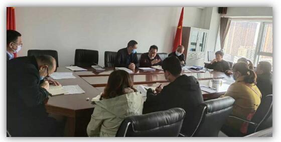 绿盾征信甘肃服务机构参加榆中县信用体系建设创新工作协调会